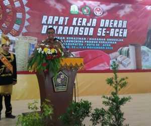 Wabup Pidie buka Rakerda Dekranasda Aceh 2019