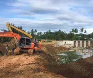 Bendungan Irigasi senilai Rp4,2 miliar Siap Aliri 500 Hektar Sawah