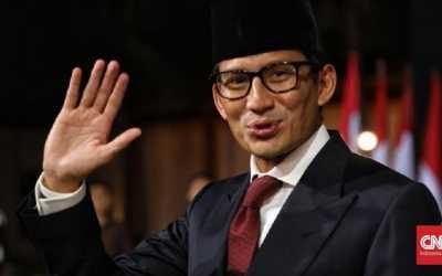 Sandiaga Uno disebut Jokowi Bisa Jadi Presiden 2024