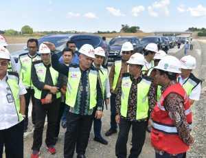 Jelang Kedatangan Jokowi ke Aceh, Sekda Tinjau Jalan Tol