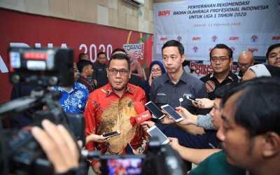 Rekomendasi Liga 1, BOPI Berharap Kompetisi 2020 Menjadi Terbaik