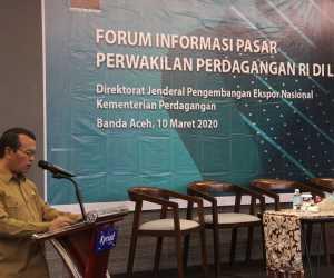 Ekspor Aceh Meningkat 26 % pada 2019