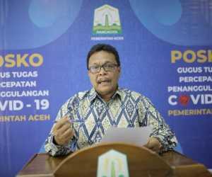 Update Covid-19 Aceh : Alhamdulillah, Tidak ada Tambahan PDP Positif
