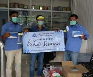 Alumni Teknik Elektro Unsyiah Sumbang 6.080 APD