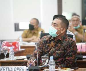 Ketua DPRA Minta Pemerintah Segera Sampaikan Realokasi Angaran Penanganan Covid-19