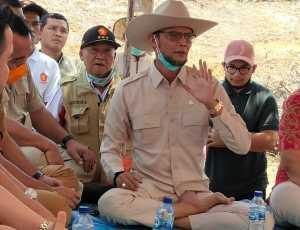 Kunjungi Petani di Tengah Wabah Covid-19, TA. Khalid Buktikan Keberpihakannya