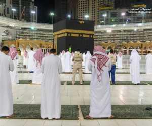 Jaga Jarak Shalat di Masjid Haram