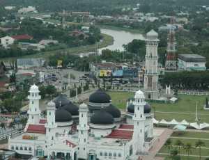 Shalat Idul Fitri di Masjid Raya Baiturraham Banda Aceh