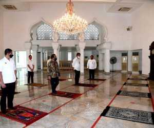 Jokowi Tinjau Masjid Baiturrahim