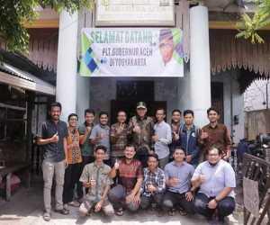 Apresiasi Alumni Asrama Ponco untuk Plt Gubernur Aceh