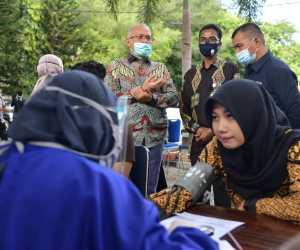 Sekda Aceh Pantau Aksi Donor Darah