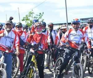 Peserta GOWES Terkagum Dengan Keindahan Pulo Aceh