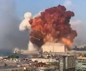 Ledakan Dahsyat Guncang kota Beirut, Lebanon