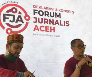 Jurnalis Aceh Bentuk Forum, Muhammad Saleh Terpilih Aklamasi