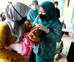 Ketua PKK Aceh Besar Vitamin A Sangat Manfaat Bagi Perkembangan Balita