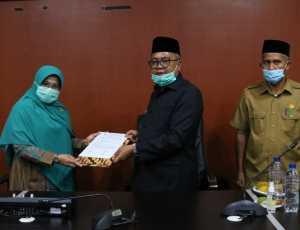 Pemkab Aceh Barat Terima Hibah Tanah dari Pemerintah Pusat