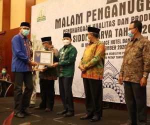Enam Kabupaten Terima Anugerah Siddhakarya tahun 2020
