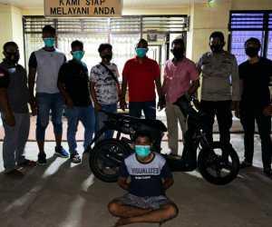 Polresta Banda Aceh Ringkus Pelaku Curanmor Lintas Kota
