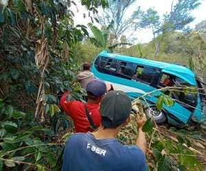 Sempat Kabur, Sopir Minibus yang Jatuh di Lokasi Wisata Pantan Terong Diciduk Polisi
