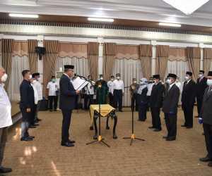 Gubernur Lantik 15 Pejabat Tinggi Pratama di lingkungan Pemerintah Aceh, Ini Nama-namanya