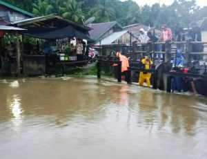 Banjir Landa Dua Kecamatan di Nagan Raya
