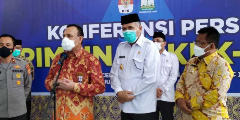 Ketua KPK: Jangan Ada Lagi Korupsi di Aceh