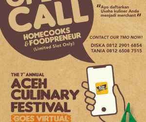 Perdana, Festival Kuliner Virtual Akah Hadir Lewat Aceh Food Apps