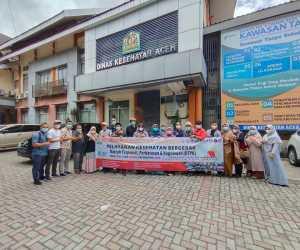 Layani Kesehatan Warga, Tim DTPK Aceh, Bergerak ke Pedalaman Aceh Tengah