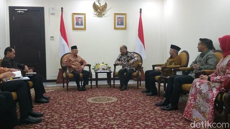 Temui Ma'ruf Amin, Ilham Habibie Laporkan Wacana KEK Halal di Aceh