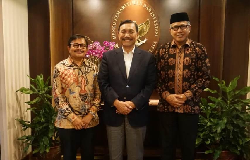 Jumpa Luhut, Nova Bahas Investasi UEA di Aceh
