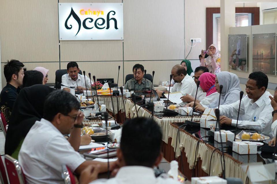 Pemerintah Aceh dan JICA Bahas Kerja Sama Program Kebencanaan