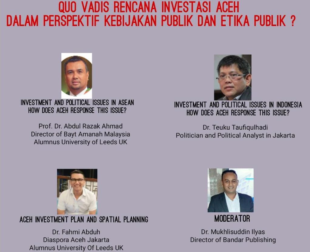 ISPS Kupas Investasi di Aceh