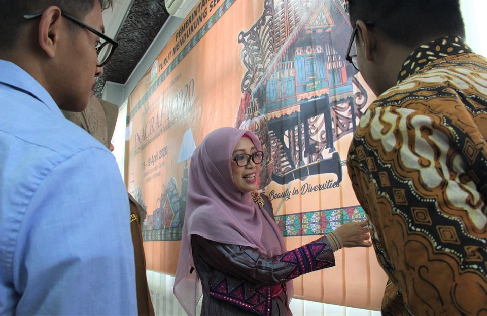 Rumoh Aceh Tampil sebagai Ikon International Handicraft Trade Fair 2020