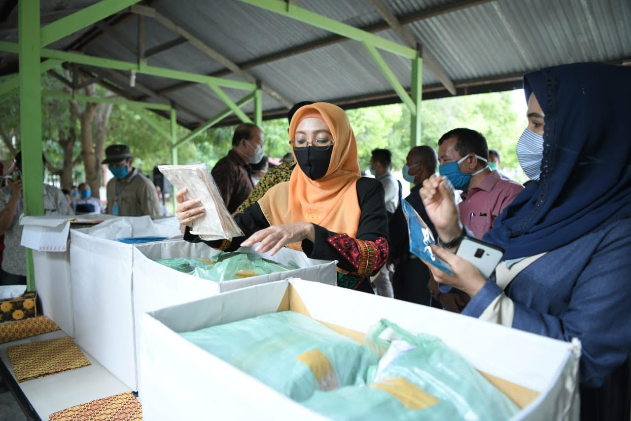 Dyah Canangkan Program Masker For All