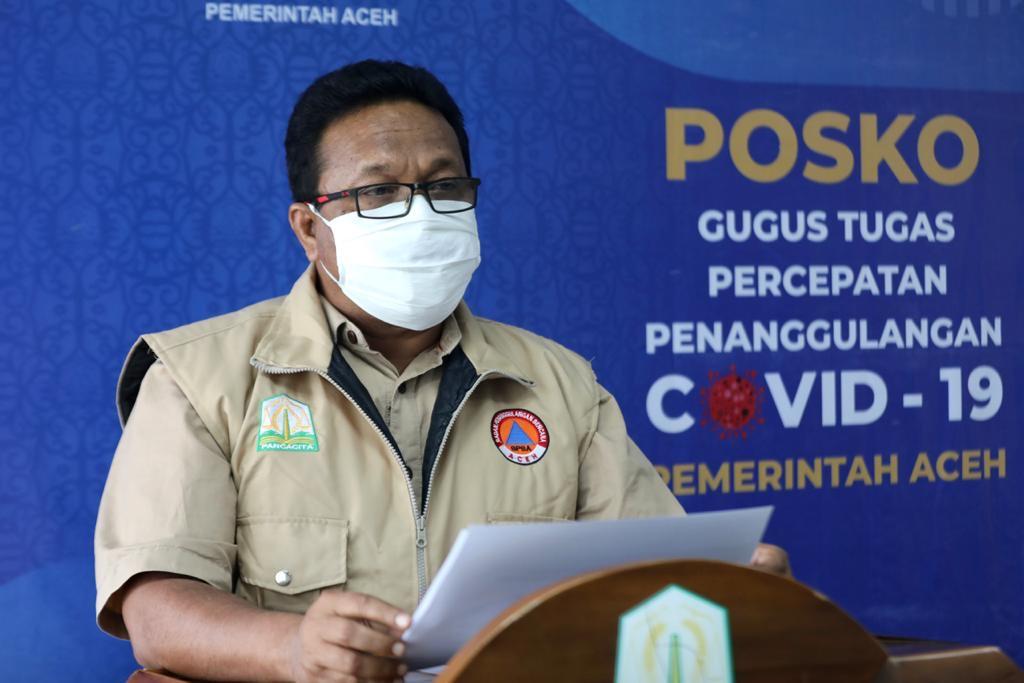 Kasus Baru Covid-19 Aceh 27 Orang, Dua Meninggal Dunia