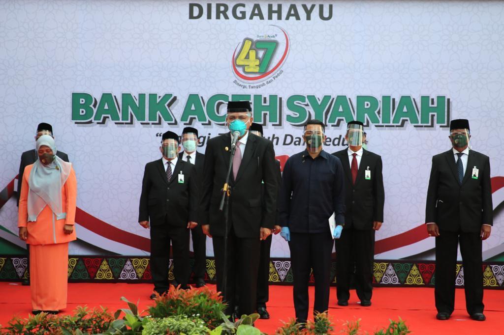 Plt Gubernur : Bank Aceh harus Berkontribusi Cegah Penyebaran Covid-19