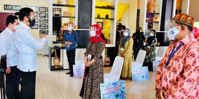 Presiden Berikan Banpres Produktif Usaha Mikro di Banda Aceh